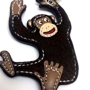 Coach Accessories - Coach Keychain RARE Gorilla Ape Monkey  Key ring